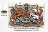 Royal Train Coat of Arms - Steam Museum - Swindon - 18.8.2015