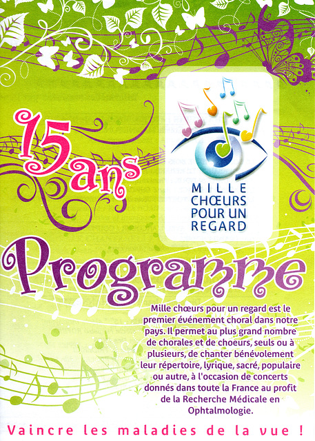 Concert à Livry-sur-Seine le 20 mars 2010