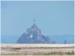 Vue depuis Cherrueix  (35) vers le Mont Saint Michel