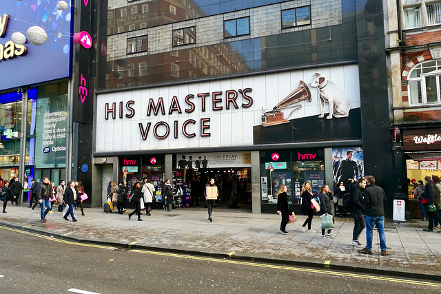 London 2018 – His Master's Voice