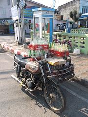 Moto Honda Coca-Cola