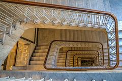 Art Nouveau Staircase - Jugenstil Treppenhaus