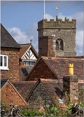 Much Wenlock Roofs