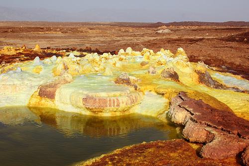 Sulphur Formations