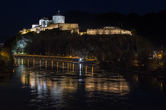 Kufstein Castle at Night