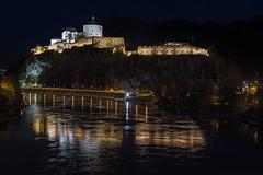 Kufstein Castle at Night