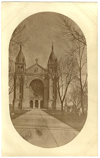 WP2024 WPG - ST B - ST. BONIFACE CATHEDRAL (OVAL)
