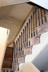Staircase, Kimbolton Castle, Cambridgeshire
