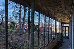 no glass anymore - chairlift Plabutsch - 2