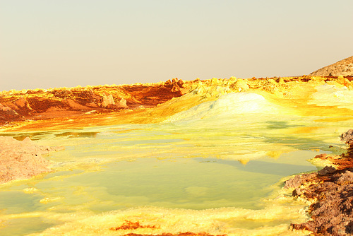 Striking Yellow - Sulphur - Dallol