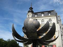 Der Kugelbrunnen