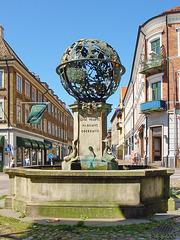 Helsingborg, Tycho-Brahe-Brunnen