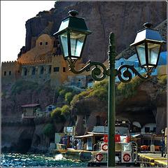 Santorini :  Ormos di Θήρα -