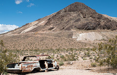 Rhyolite 1962 Chevrolet..and mines (#1069)