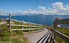 Zaun mit Meerblick - Fence With Sea View