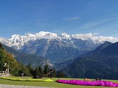 La Chaîne du Mont-Blanc !!