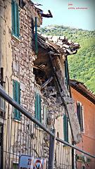 Visso, Marche  - die zerstörte Geisterstadt* (PiP)