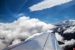 Zurück durch die Wolken