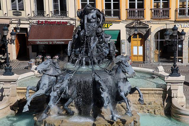 La Fontaine Bartholdi , à Lyon