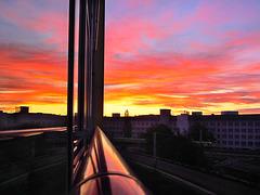 Am Fenster ...  ♫ ♪ ♪ ♫
