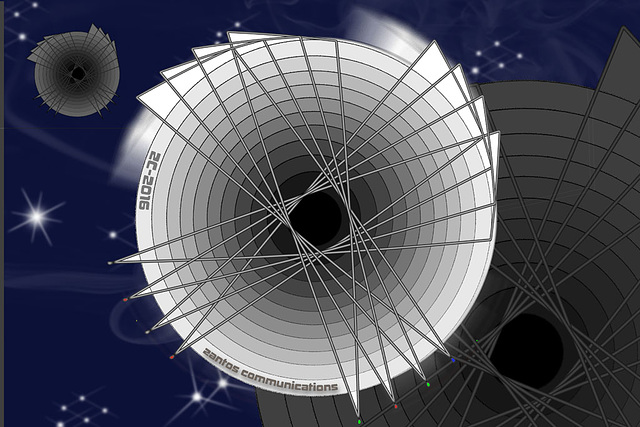 Zantos ZC-2016 space communications satellite