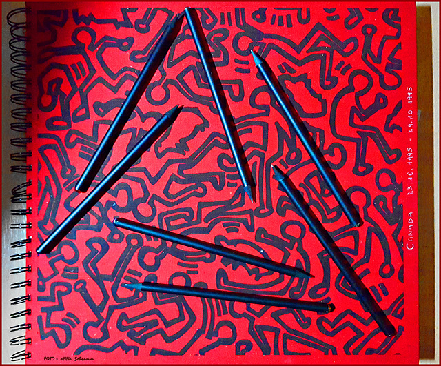 Keith Haring *Stifte* (14/50)