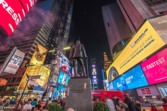 The Great White Way-The Crossroads of the World