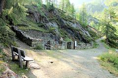 Alte Stollenanlage - Bergwerk Prettau