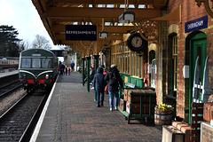 Sheringham railway station.  For Füsun!