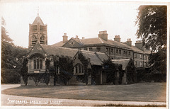 The Chapel of St George and Sherwood Lodge, Nottinghamshire (Both Demolished 1970s)