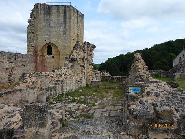 ruines du chateau de CARLUX Dordogne