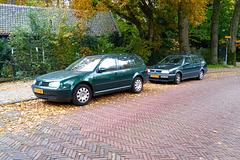 2000 & 1998 Volkswagen Golf Variant