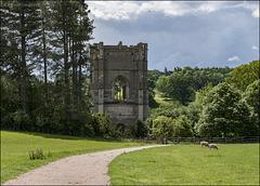 Towards Fountains Abbey ...