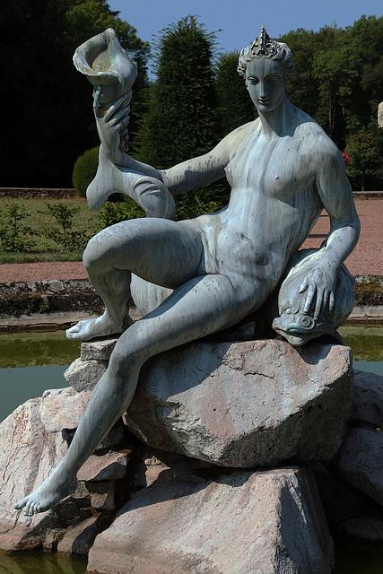 Naïade , fontaine aux Ammanatti
