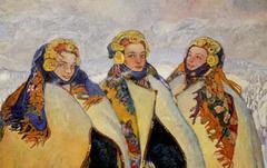 Jeunes filles Houtsoules (détail)