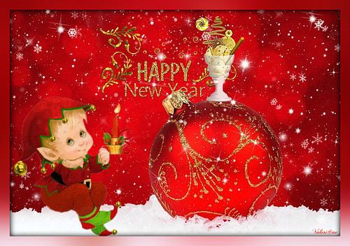 Meilleurs voeux de nouvelle année mes amis (ies)...