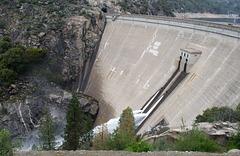 Hetch Hetchy O'Shaugnessy Dam  (#0629)