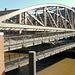 Hamburg Speicherstadt: Kibbelsteg, die Doppeldecker-Brücke