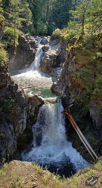 Outrageously Lovely Little Qualicum Falls! (Set 1 of 2) (+4 insets!)