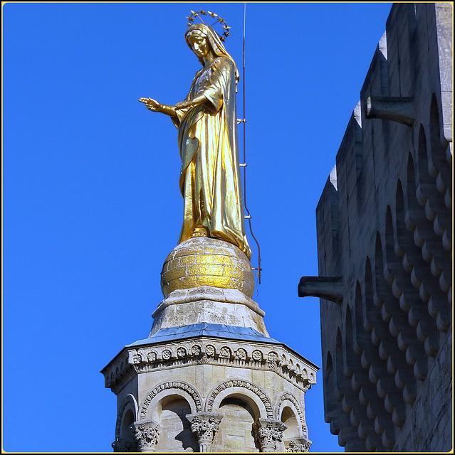 Avignon : La Madonna dorata di Notre Dame des Domes d'Avignon