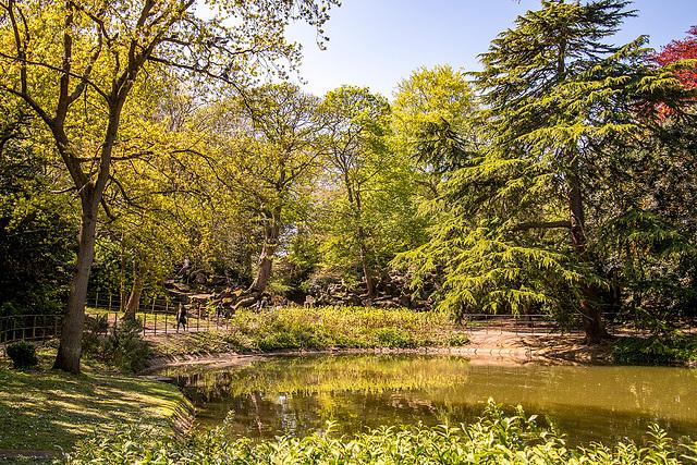 Birkenhead Park lake