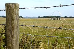 A monumental fence