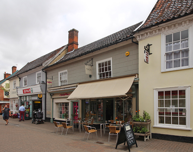 Nos.13 & 14 Thoroughfare, Halesworth, Suffolk