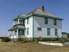 The Long house, Pioneer Acres, Alberta, Canada