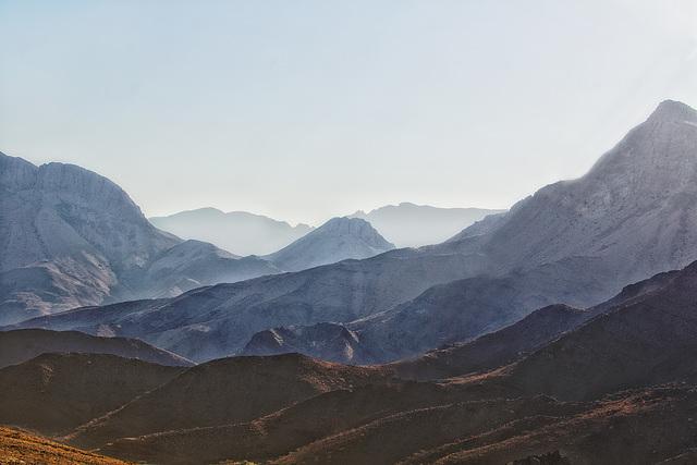 Berge und Steine