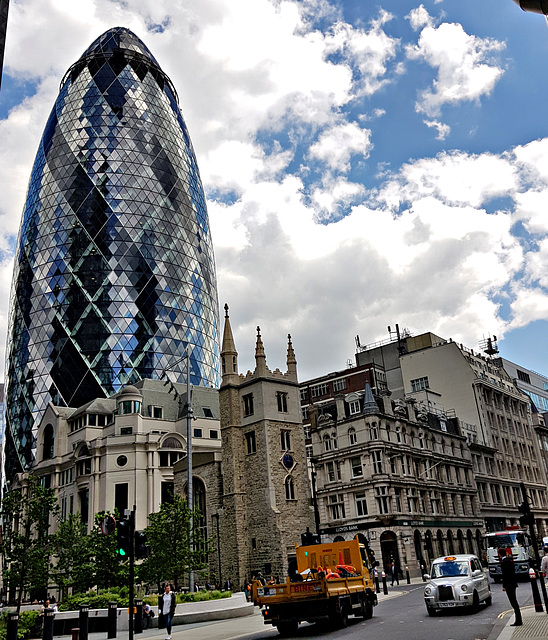 Gherkin and taxi