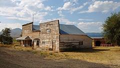 Abandoned countryside of Ironside