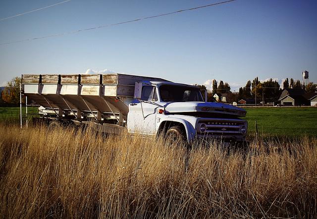 Potato truck, retired
