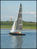 yacht at Port Meadow