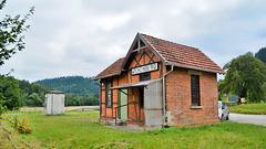 Alter Bahnhof Schönberg bei Gaildorf